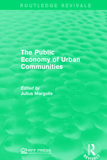 The Public Economy of Urban Communities book cover