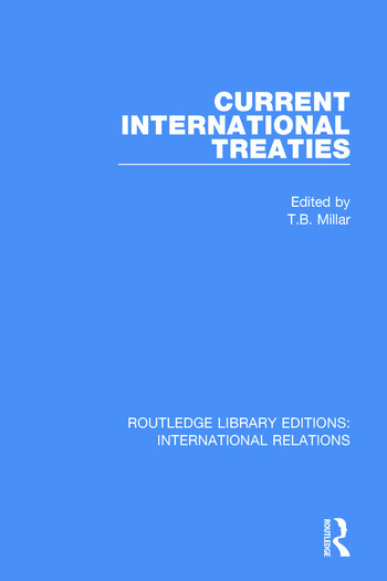 Current International Treaties book cover