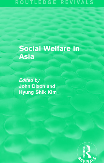 Social Welfare in Asia book cover