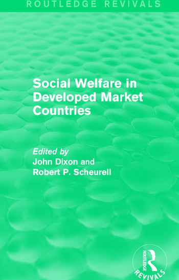 Social Welfare in Developed Market Countries book cover