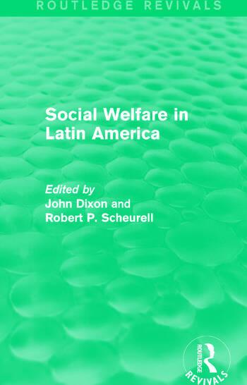 Social Welfare in Latin America book cover