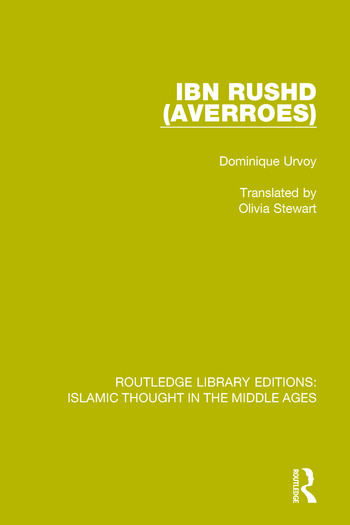 Ibn Rushd (Averroes) book cover