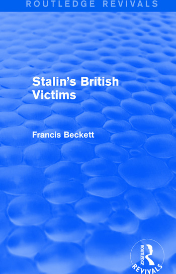 Stalin's British Victims book cover