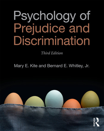 Psychology of Prejudice and Discrimination 3rd Edition book cover