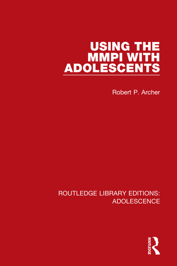 Routledge Library Editions: Adolescence book cover