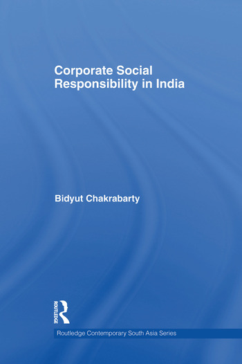 Corporate Social Responsibility in India book cover