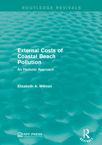External Costs of Coastal Beach Pollution An Hedonic Approach book cover