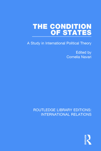 The Condition of States book cover