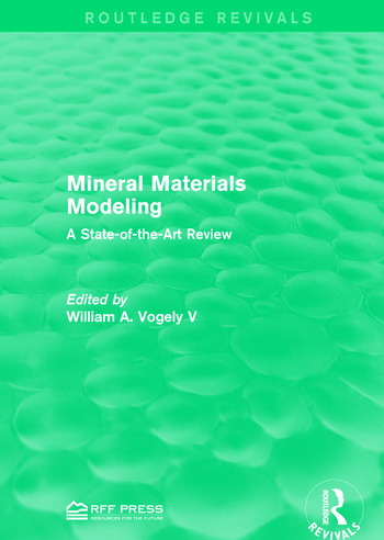 Mineral Materials Modeling A State-of-the-Art Review book cover