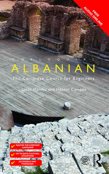 Colloquial Albanian The Complete Course for Beginners book cover