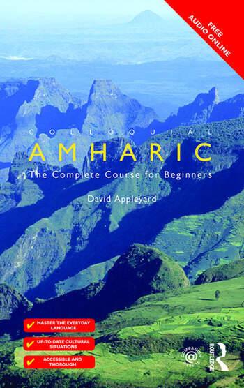 Colloquial Amharic book cover