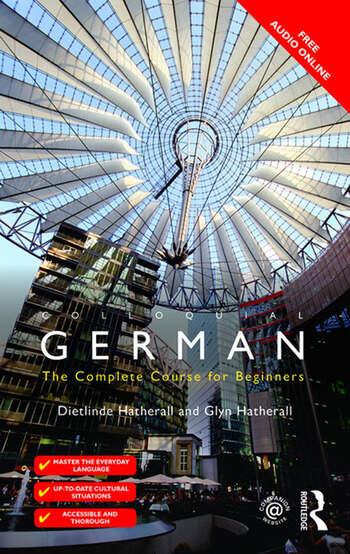 Colloquial German book cover
