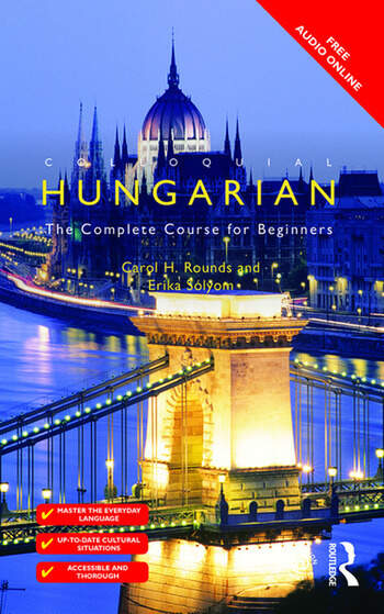 Colloquial Hungarian The Complete Course for Beginners book cover