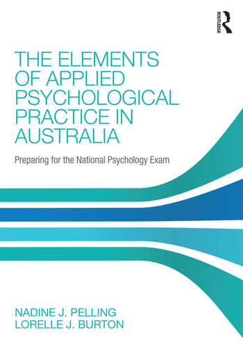 The Elements of Applied Psychological Practice in Australia Preparing for the National Psychology Examination book cover