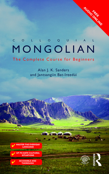 Colloquial Mongolian The Complete Course for Beginners book cover