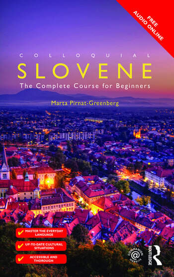 Colloquial Slovene The Complete Course for Beginners book cover