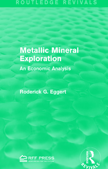 Metallic Mineral Exploration An Economic Analysis book cover