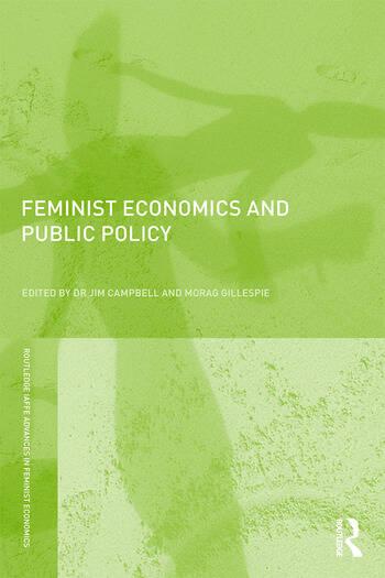 Feminist Economics and Public Policy book cover