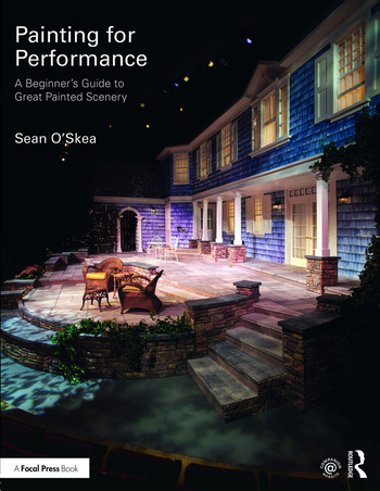 Painting for Performance A Beginner's Guide to Great Painted Scenery book cover