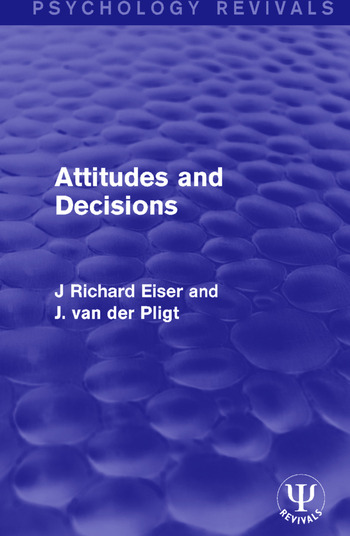 Attitudes and Decisions book cover