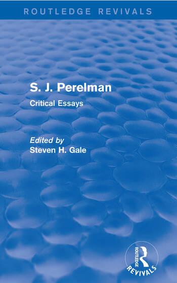 S. J. Perelman Critical Essays book cover