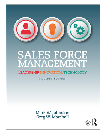 Sales Force Management Leadership, Innovation, Technology book cover