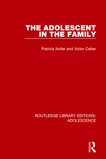 The Adolescent in the Family book cover