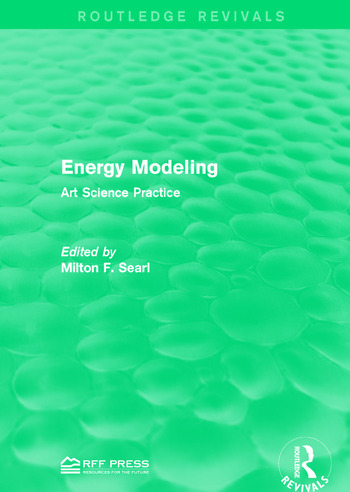 Energy Modeling Art Science Practice book cover