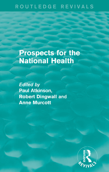 Prospects for the National Health book cover