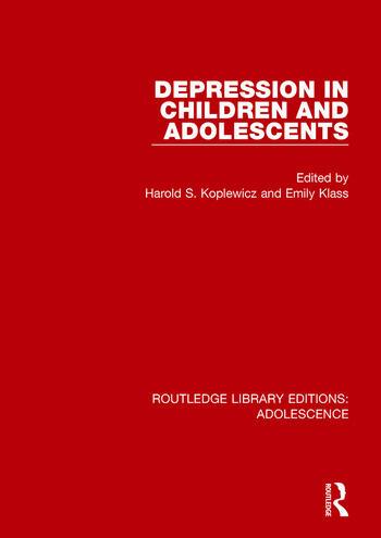 Depression in Children and Adolescents book cover