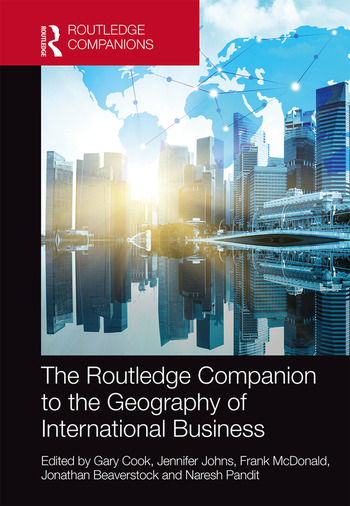 The Routledge Companion to the Geography of International Business book cover