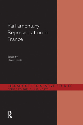 Parliamentary Representation in France book cover