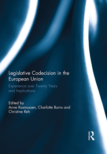 Legislative Codecision in the European Union Experience over Twenty Years and Implications book cover