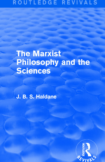 The Marxist Philosophy and the Sciences book cover