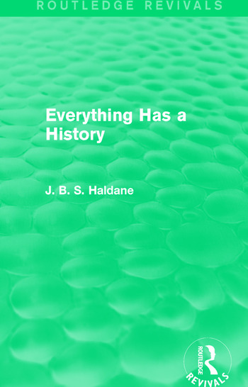 Everything Has a History book cover