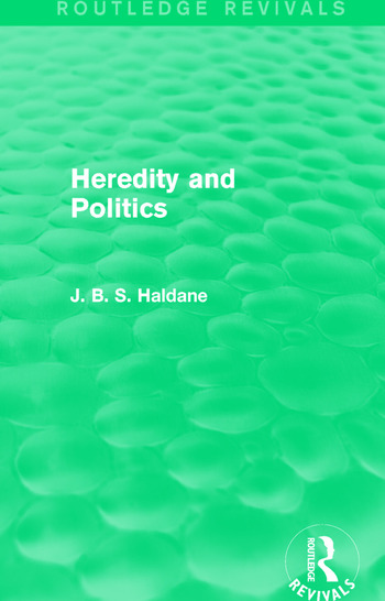 Heredity and Politics book cover