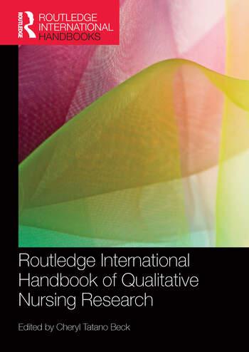 Routledge International Handbook of Qualitative Nursing Research book cover