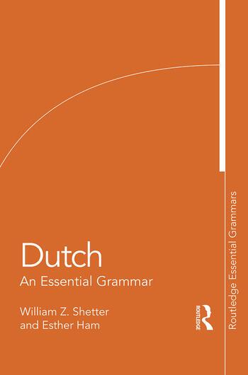 Dutch An Essential Grammar book cover