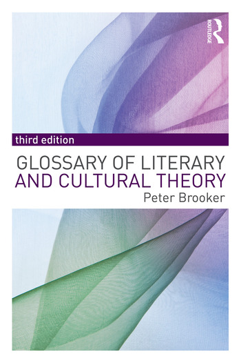 A Glossary of Literary and Cultural Theory book cover