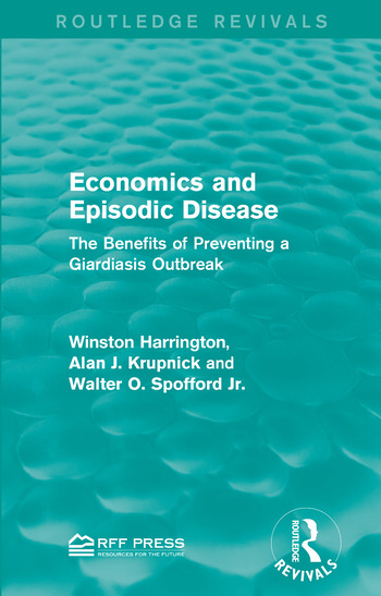 Economics and Episodic Disease The Benefits of Preventing a Giardiasis Outbreak book cover