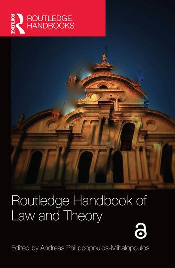 Routledge Handbook of Law and Theory book cover