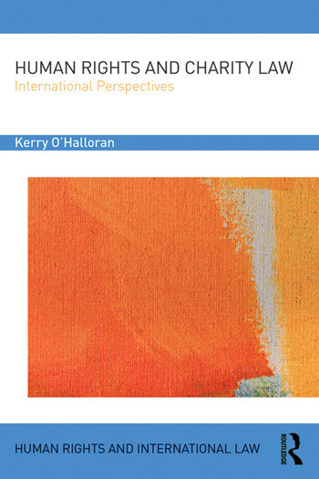 Human Rights and Charity Law International Perspectives book cover