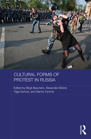 Cultural Forms of Protest in Russia book cover