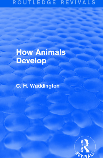 How Animals Develop book cover