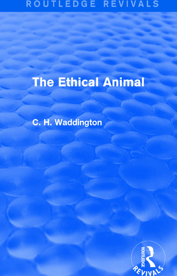 The Ethical Animal book cover