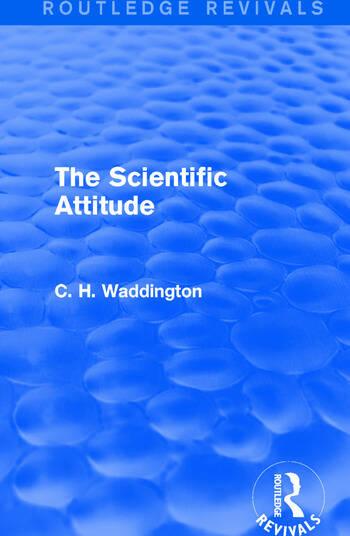 The Scientific Attitude book cover