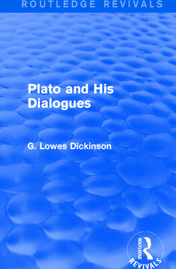 Plato and His Dialogues book cover