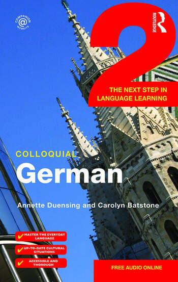 Colloquial German 2 The Next Step in Language Learning book cover