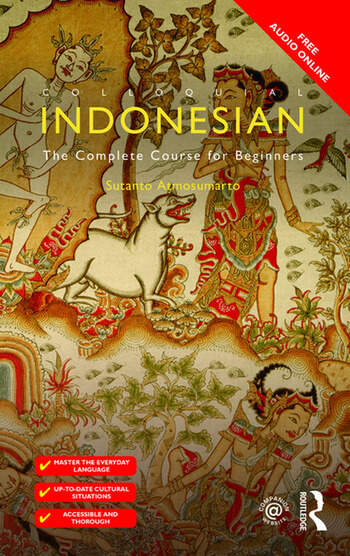 Colloquial Indonesian The Complete Course for Beginners book cover