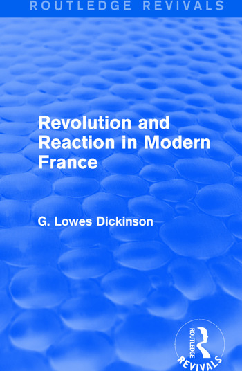 Revolution and Reaction in Modern France book cover